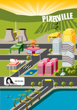 pixelville city!