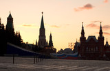 moscow red square poster