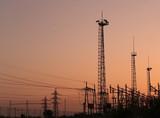 estruturas de transmissão eléctrica poster