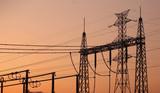 torre transmissão eléctrica poster