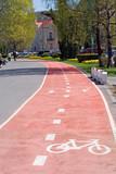 bikers lane poster