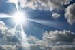 ciel soleil