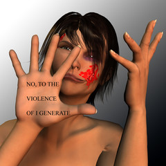 no al maltrato