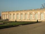 facade du grand trianon-chateau de versailles poster