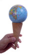 world ice cream cone