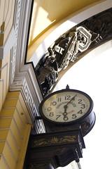old-style public clocks