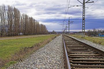 railroad embankment