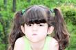 mad face / child portrait