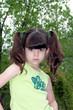 mad attitude/child portrait