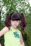 mad attitude/child portrait poster