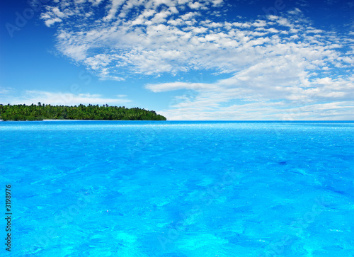 canvas print picture tropical island