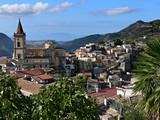 Fototapety panoramica di novara di sicilia