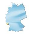 deutsche bundesländer => saarland