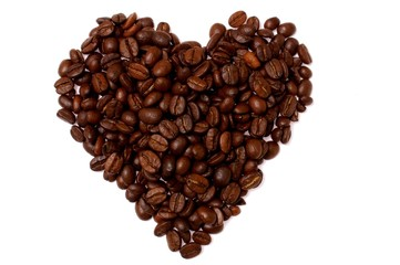 the coffee heart