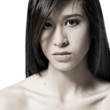 nude shoulder beauty poster