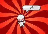 emotion wut symbol poster