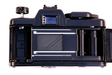 inside view of a photo camera