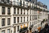 paris apartments poster