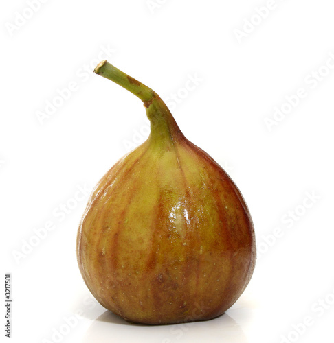 delicious fig isolated