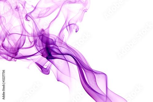 Tuinposter Rook purple smoke