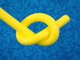 yellow unit aqua noodles poster