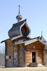 wooden church of 17th century