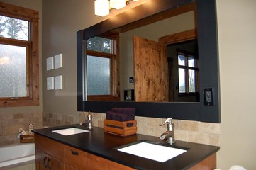 interior designed bathroom