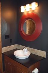 interior designed bathroom
