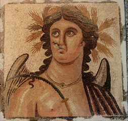 lybia, ancient roman portrait