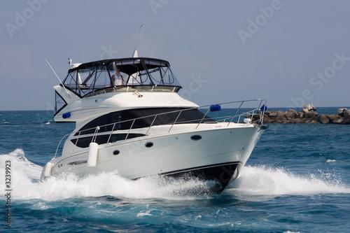 In de dag Jacht fishing yacht