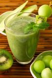 Fototapety honeydew kiwi smoothie