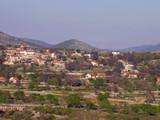 dalmatian village poster