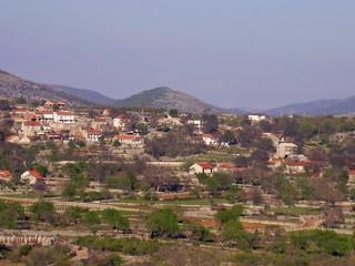 dalmatian village