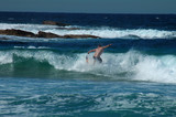 dangerous surfing poster
