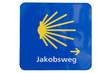 jakobsweg schild