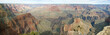 grand canyon panorama at noon