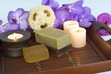 Fototapety luxury soap