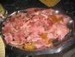 repas, jambon de noel - antilles