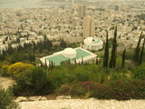 view of haifa city in israel poster
