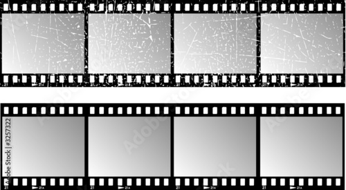 poster of film strips