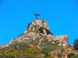 cristo signore della montagna poster