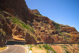 the famous chapmans peak half tunnel poster