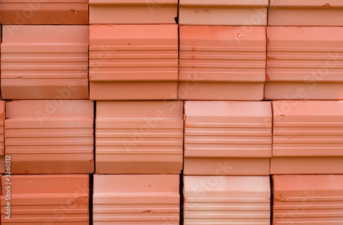 red stacked bricks