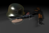 world war ii concept poster