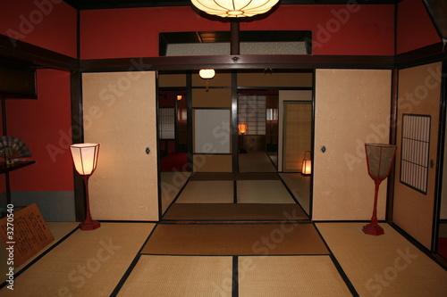 Interieur japonais de gwenaelle lemoal photo libre de for Interieur japonais