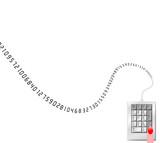 numeric data entry border poster