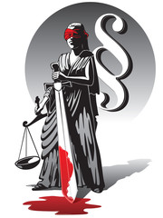 bloody lady justice