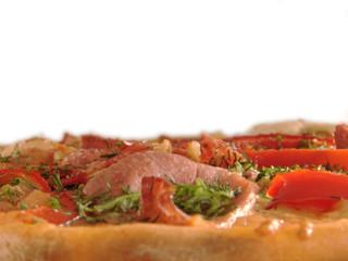 "pizza ""neapolitano"" close-up"