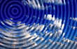 abstract blue rippled background