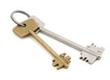 the keys.